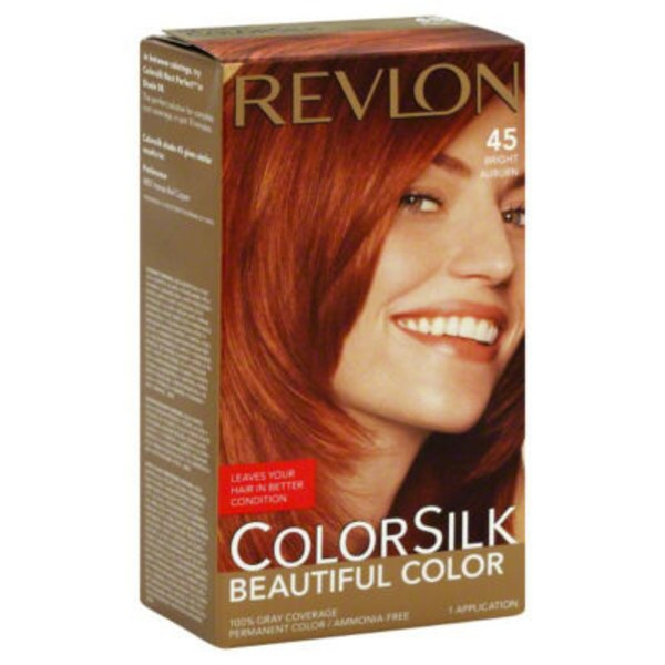 Revlon Colorsilk Level 3 4BR Bright Auburn 45 Permanent Color
