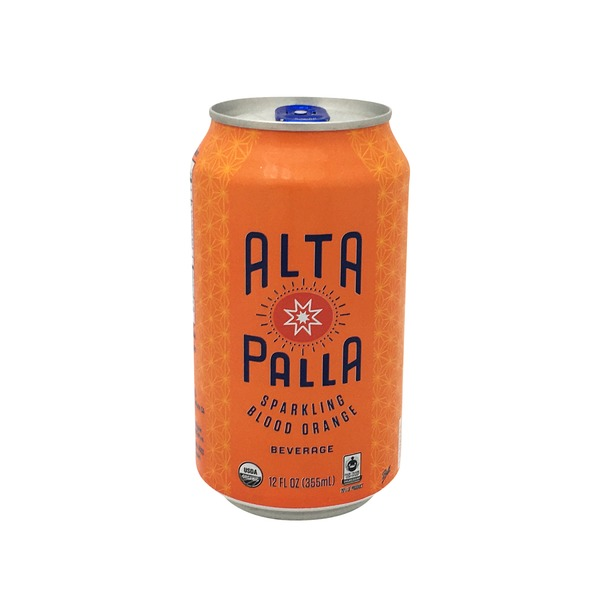 Alta Palla Organic Sparkling Blood Orange Beverage