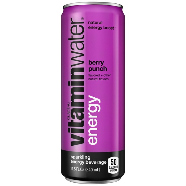 Glaceau Vitaminwater Energy Berry Punch Vitaminwater