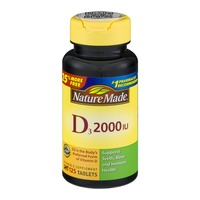 Nature Made D3 2000 IU - 125 CT