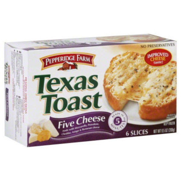 Pepperidge Farm Frozen Bakery 5 Cheese  Texas Toast