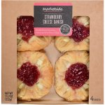 Marketside Strawberry Cheese Danish, 4 pk