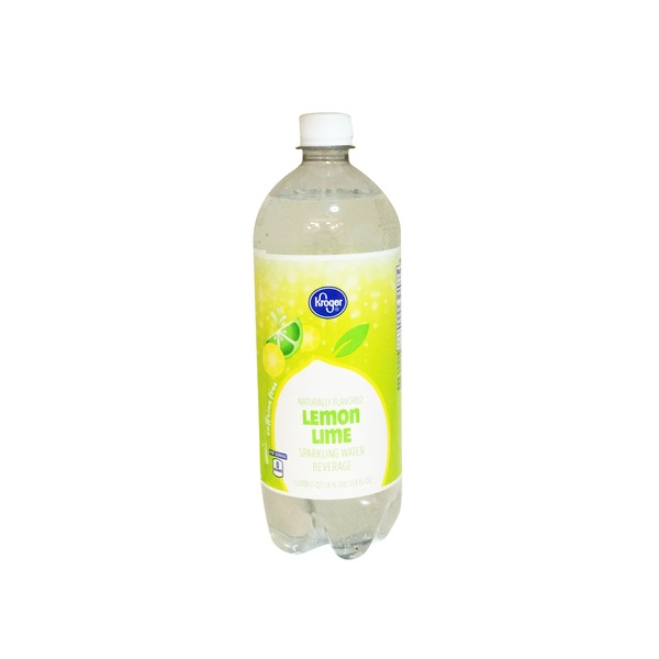 Kroger Lemon Lime Sparkling Water Beverage