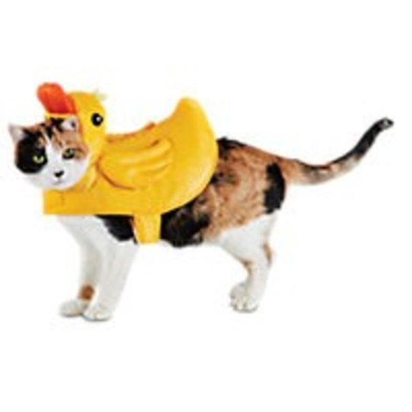 Halloween Rubber Ducky Cat Costume