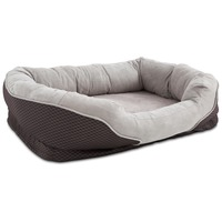 Petco Orthopedic Peaceful Nester Gray Dog Bed 40
