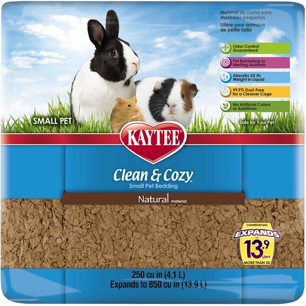 Kaytee Small Pet Clean & Cozy Natural Material