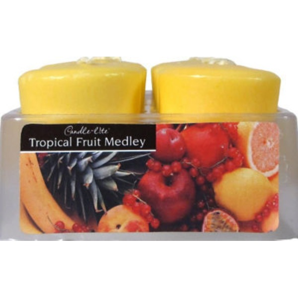 Candle Lite Tropical Fruit Scented Votive Candle