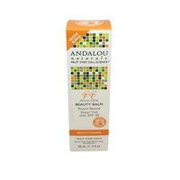 Andalou Naturals Beauty Balm, All in One, Sheer Tint, with SPF 30