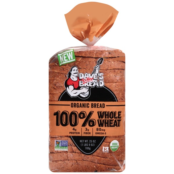 Dave's Killer Bread 100% Whole Wheat  Organic Bread