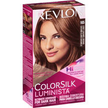 Revlon ColorSilk Luminista Hair Color Kit 165 Light Caramel Brown