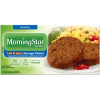 Morning Star Farms Hot & Spicy Veggie Sausage Patties