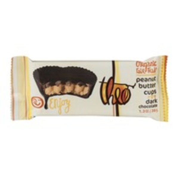 Theo Peanut Butter Cups Dark Chocolate