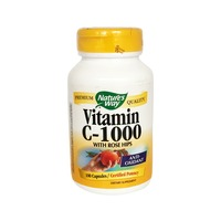 Nature's Way Vitamin C-1000 With Rose Hips Capsules - 100 CT