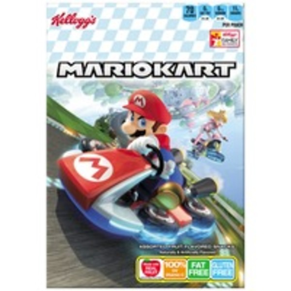 Kellogg's Mario Kart Fruit Flavored Snacks