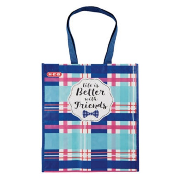 H-E-B Life Is Better With Friends Reusable Bag