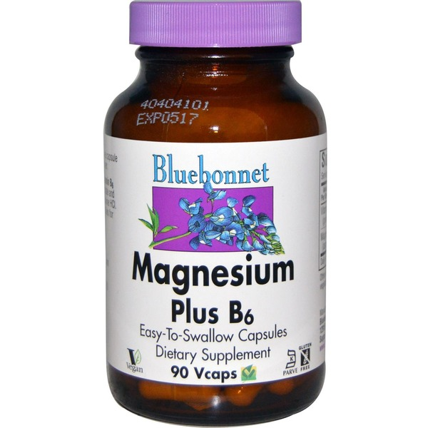 Bluebonnet Magnesium Plus B6