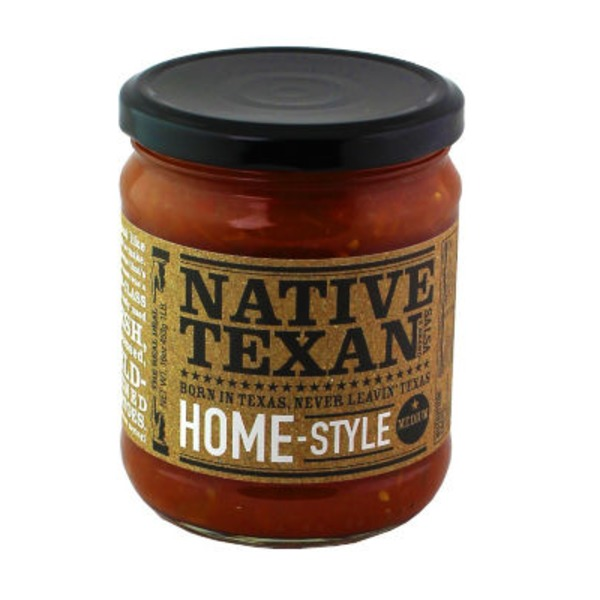 Native Texan Medium Home Style Salsa