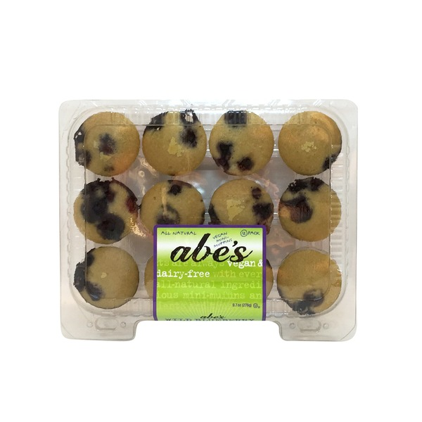 Abe's Vegan Wild Blueberry Mini Muffins