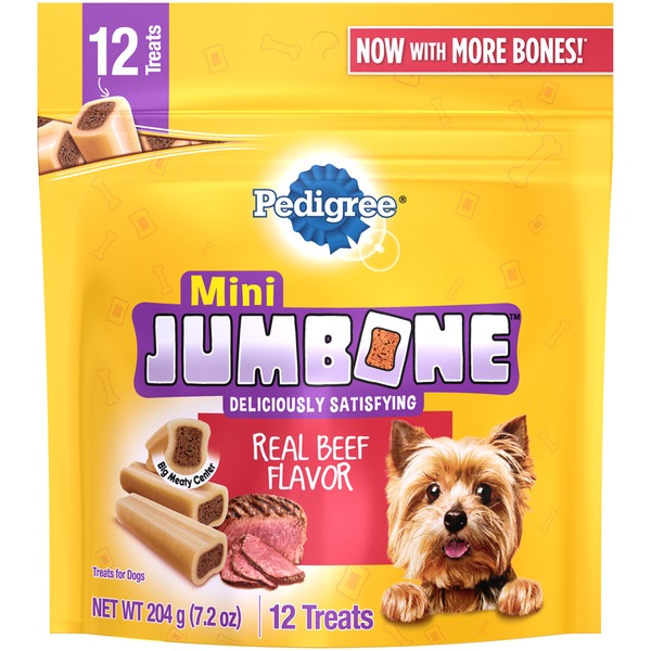 Jumbone Mini Jumbone Real Beef Flavor Dog Treat