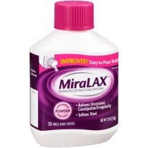 MiraLAX, Unflavored/Grit Free Laxative Powder, 17.9 Ounces, 30 Doses