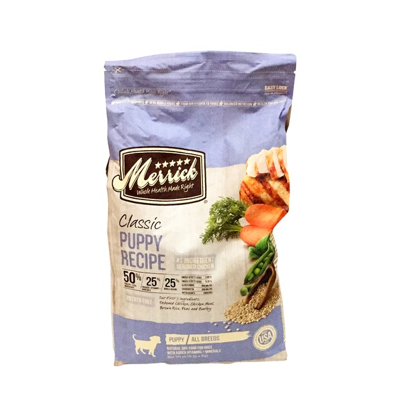 Merrick Classic Puppy Recipe Dog Food