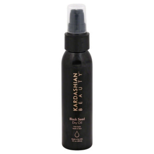 Kardashian Beauty Dry Oil, Black Seed