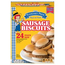 Odom's Tennessee Pride Sausage Biscuits, 24 Count