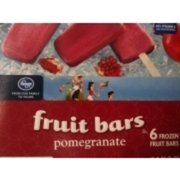 Kroger Pomegranate Fruit Bars