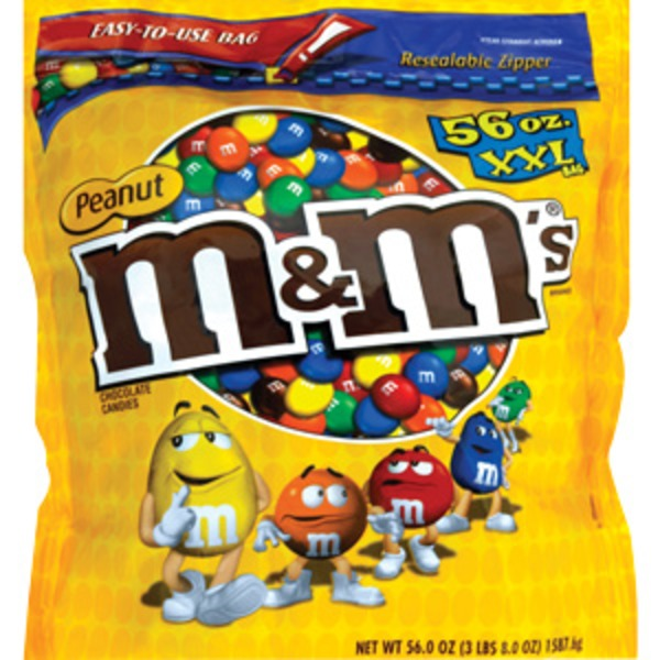 M&M's Peanut Milk Chocolate XXL Bag