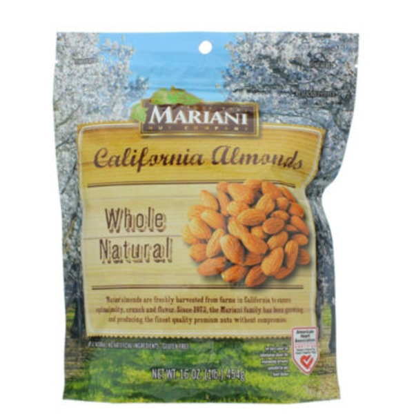 Mariani Whole Natural Califronia Almonds