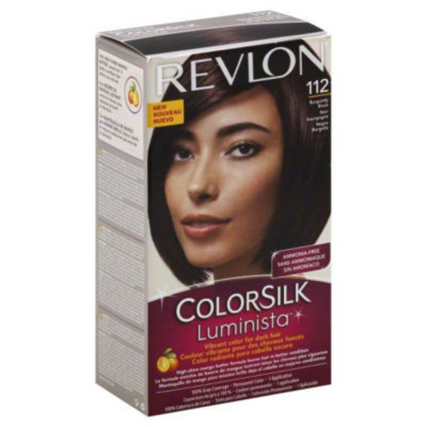 Revlon Colorsilk Luminista Permanent Color Burgundy Black 112