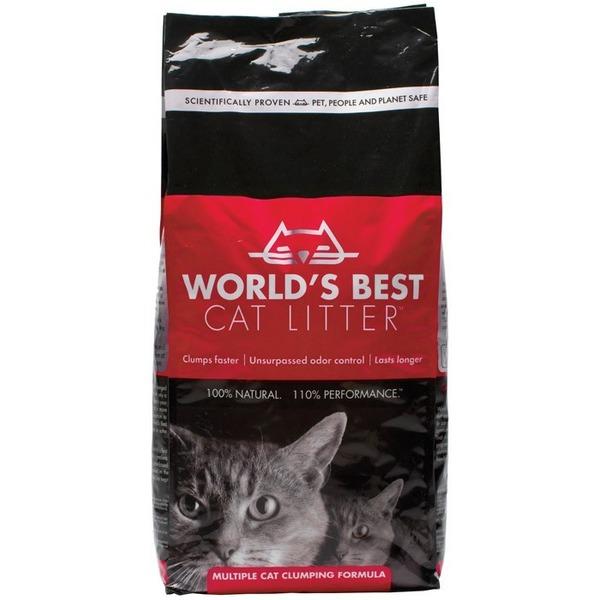 World's Best Cat Litter Clumping Formula 7 Lbs.