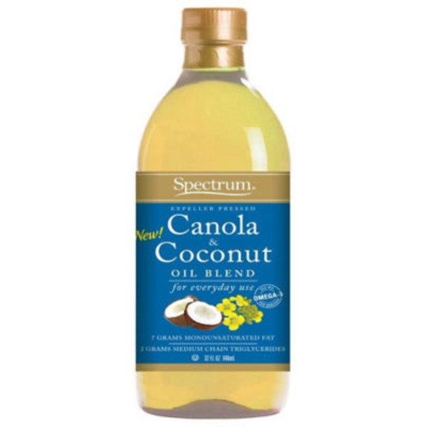 Spectrum Canola & Coconut Oil Blend