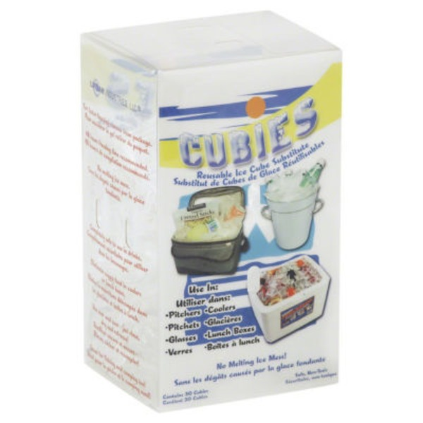Cubies Reusable Ice Cube Substitute