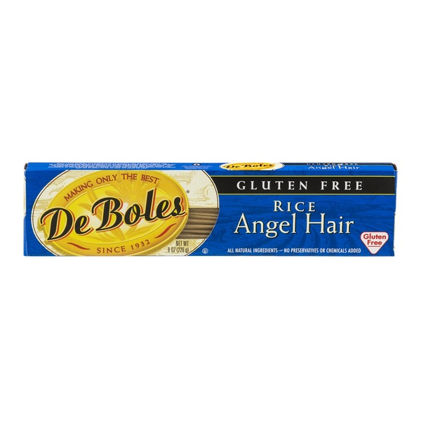 De Boles Rice Angel Hair Gluten Free