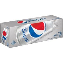 Diet Pepsi Soda, 12 Fl Oz, 12 Count
