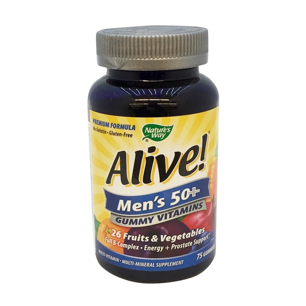 Nature's Way Men's 50+ Gummies Vitamins