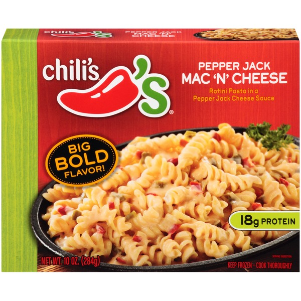 Chili's Pepper Jack Mac 'N' Cheese Frozen Dinner