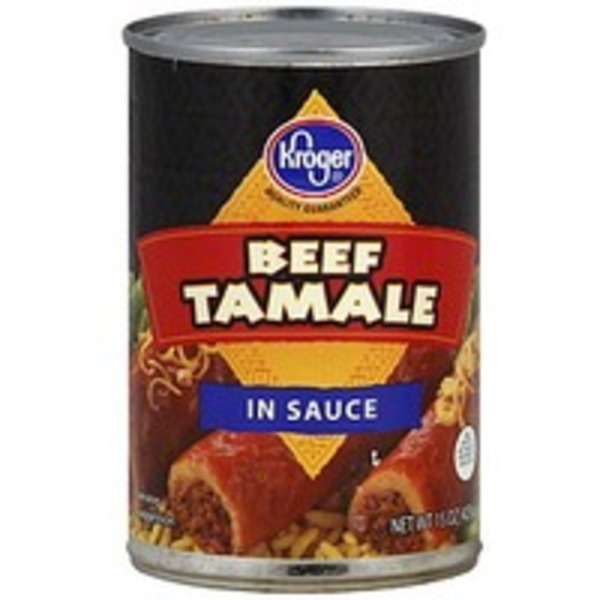 Kroger Beef Tamale In Tomato Sauce