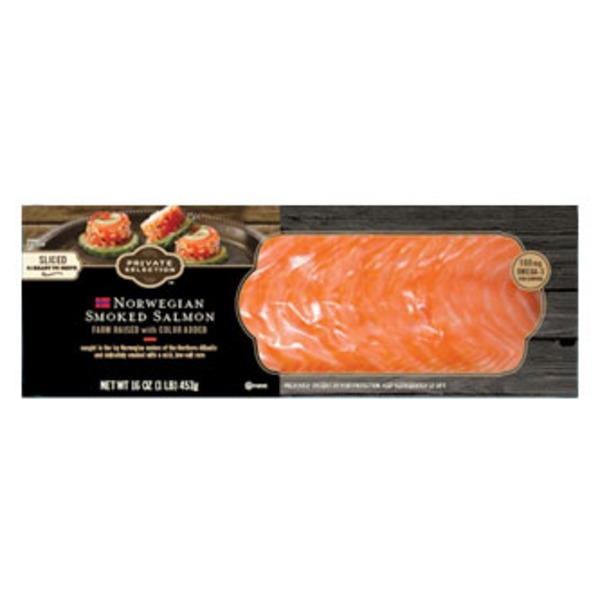 Kroger Private Selection Norwegian Smoked Salmon