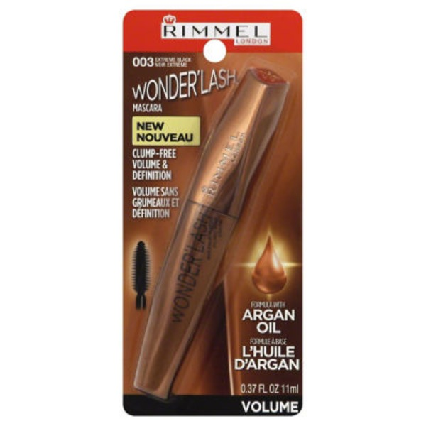 Rimmel London Wonderlash Mascara, Extreme Black