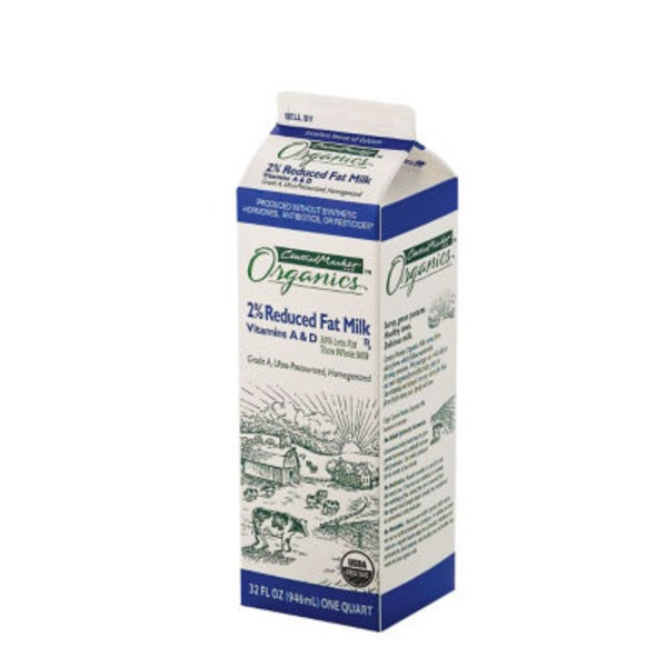 Central Market Organics 2% Reduced Fat Milk