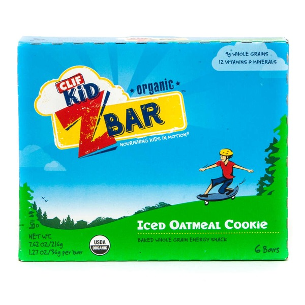 Clif Kid® ZBar Organic Iced Oatmeal Cookie Energy Snack