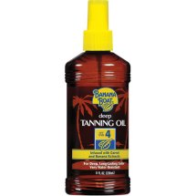 Banana Boat SPF 4 Dark Tanning Oil Spray, 8 fl oz