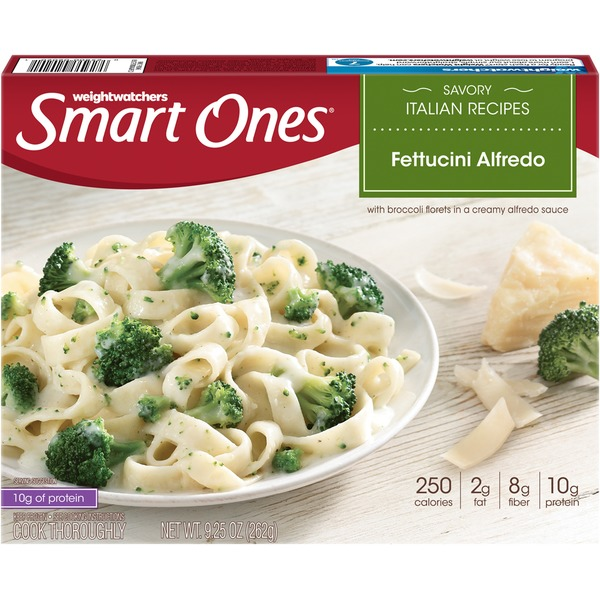 Weight Watchers Savory Italian Recipes Fettuccine Alfredo Frozen Entree