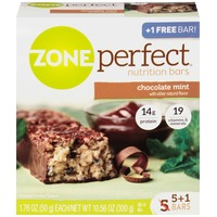 Zone Perfect Chocolate Mint Nutrition Bars