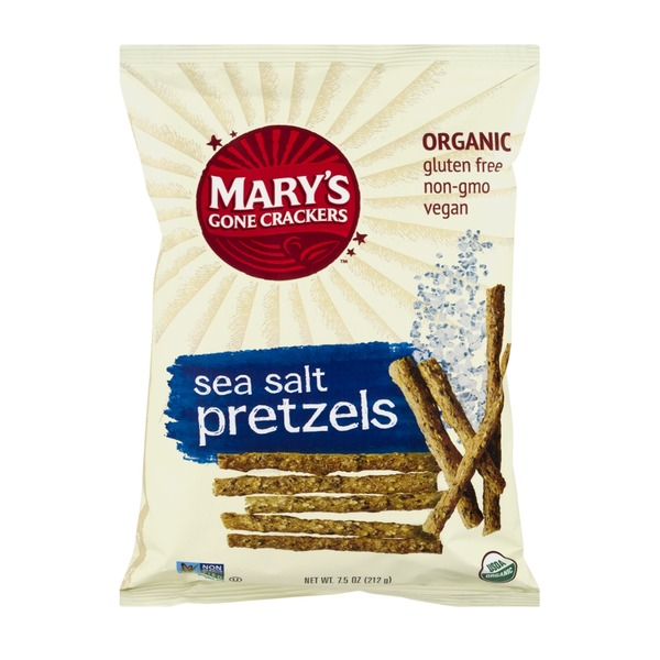 Mary's Gone Crackers Organic Pretzels Sea Salt