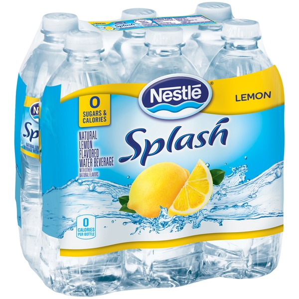 Nestle Pure Life Splash Lemon Flavored Water