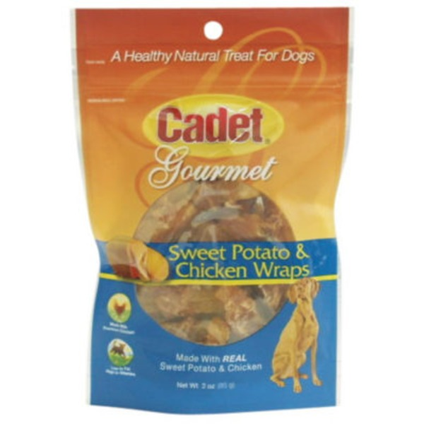 Cadet Sweet Potato & Chicken Wrap Treat