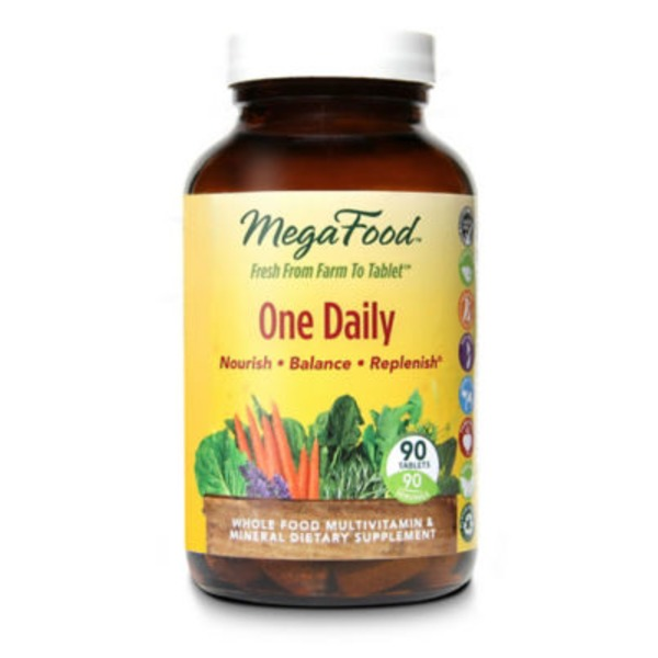 MegaFood One Daily Vegetarian Tablets